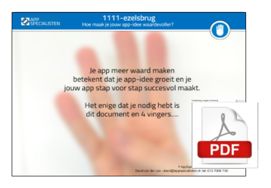 augmented reality app maken
