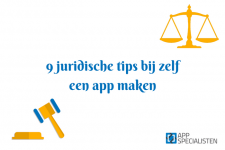 9 juridische tips bij zelf een app maken