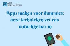 apps maken voor dummies