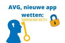 AVG, nieuwe app wetten: voorkom hoge boetes!