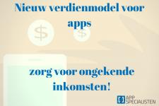 verdienmodel voor apps